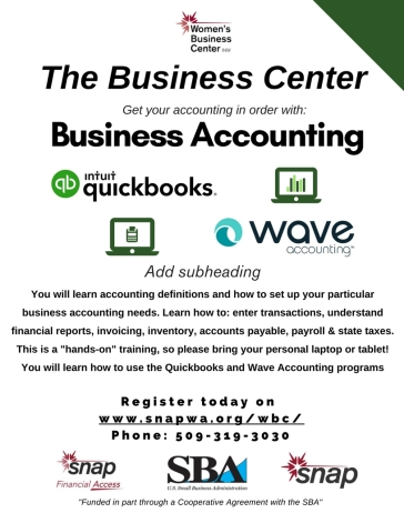 Business Accounting Flyer 02.16